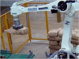 Robotic systems for potato box and bag handling, pick and