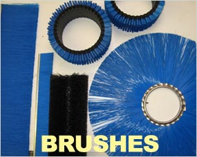 Brushes - Strip Brushes, Brush Rings, Roller Brushes