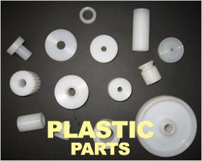 Plastic Parts - components made to customer specification