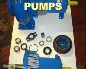 Water Pumps and fittings, mono sludge pumps