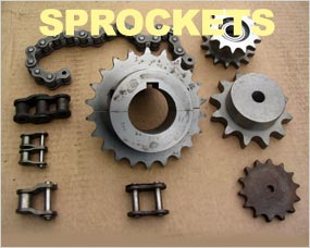 Sprockets - Conveyor Chain Sprockets, Roller Chain Sprockets, Web Drive Sprockets, Bore and Key