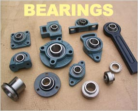 Bearings - Self Lube, Nylon Housed, Stainless Steel